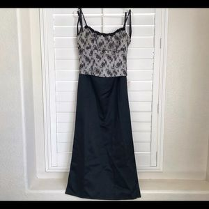 2-pc Set Corset Style Blouse & Skirt